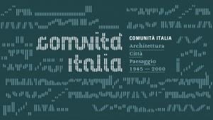 logo comunità italia